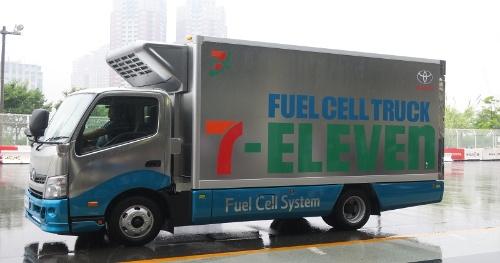 トヨタ自動車が開発している燃料電池小型トラック(FC小型トラック)