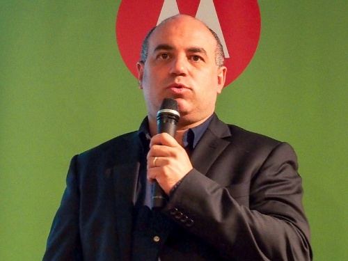 写真2●モトローラ・モビリティ・ジャパン 代表取締役社長のダニー・アダモポウロス氏