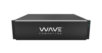 データセンター向けの機械学習用データフローコンピューター。Wave Computingのイメージ