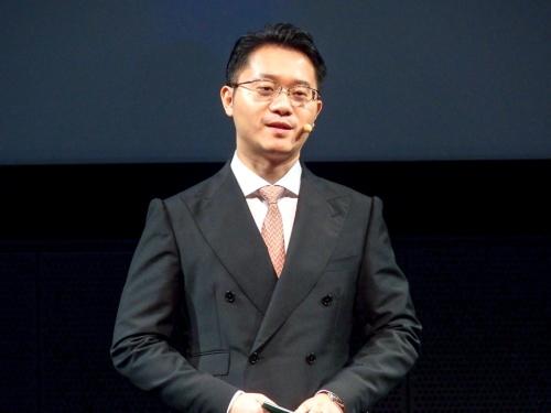 写真2●OPPO Japan 代表取締役の鄧宇辰氏