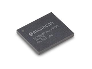 今回の新製品。Broadcomの写真