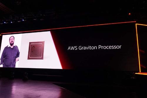 Armサーバープロセッサ「Graviton」