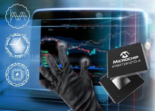 今回の新製品と応用イメージ。Microchipのイメージ