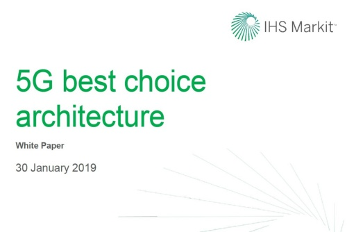 出所:「5G Best Choice Architecture」