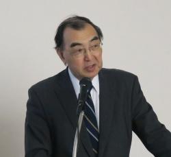 2019年2月25日に開催した記者発表会に登壇した昭和大学横浜市北部病院 消化器センター長の工藤進英氏