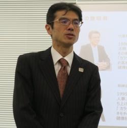 ドコモ・ヘルスケア 代表取締役社長の和泉正幸氏