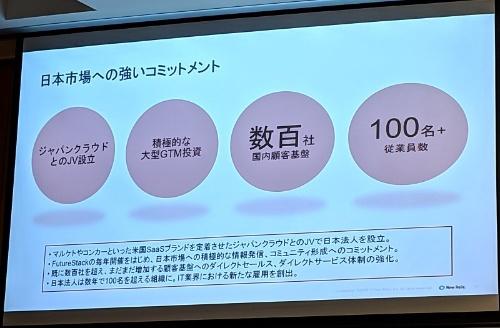 New Relicの日本市場における戦略