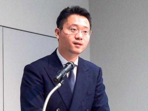 写真2●オッポジャパン 代表取締役社長の鄧宇辰(トウ・ウシン)氏