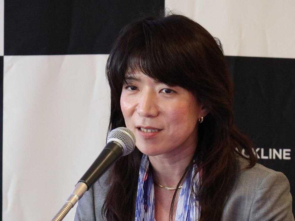 米ブラックライン日本法人の古濱淑子社長