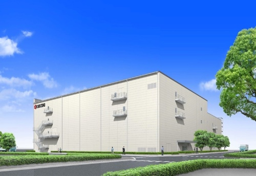 図:滋賀野洲工場29号ビルの完成予想図