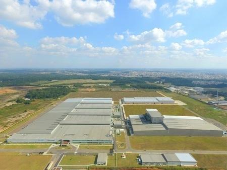 図:ブラジル工場 (出所:住友ゴム工業)
