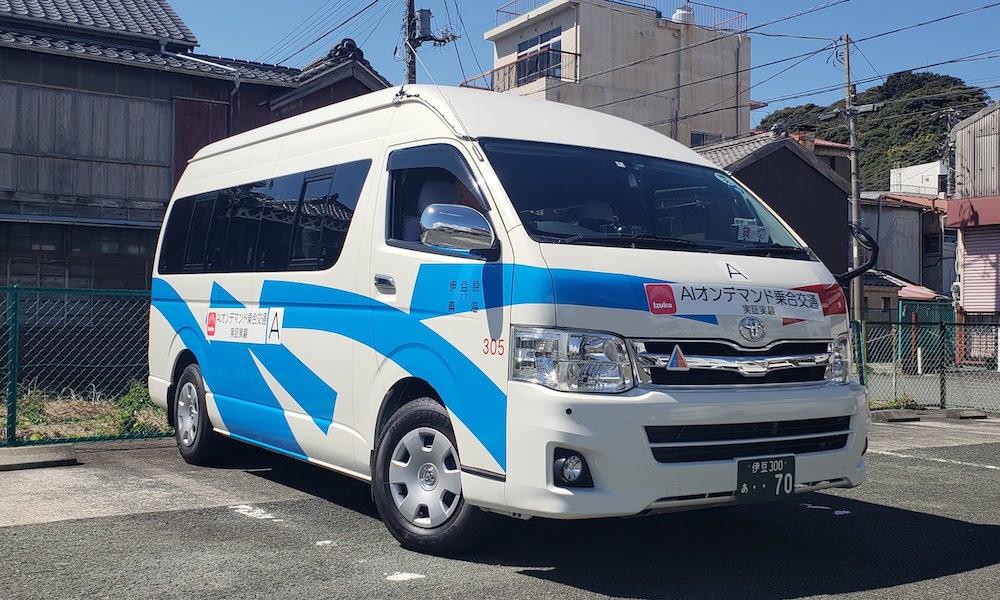 AIオンデマンド乗り合いバス (出所:東京急行電鉄)