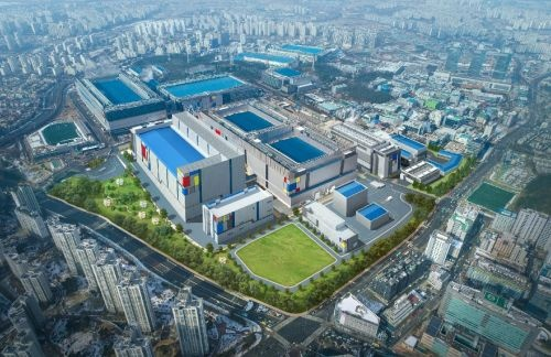 Samsung Electronicsの華城市の半導体工場