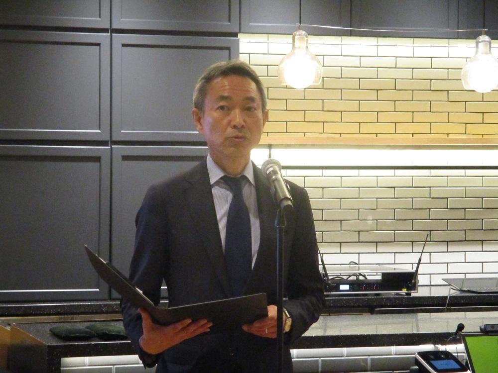 三井不動産東京ミッドタウン日比谷事業室の豊蔵英介室長