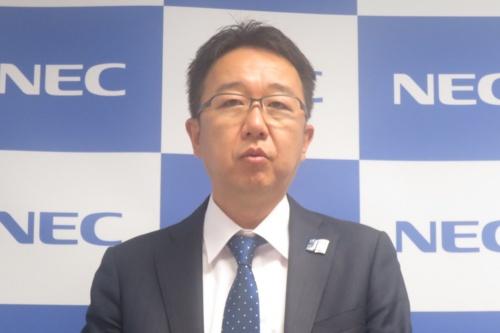 NECの佐藤崇デジタルサービスソリューション事業部長