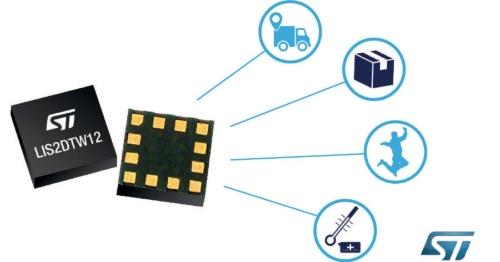 MEMS加速度センサーと温度センサーを1チップ化