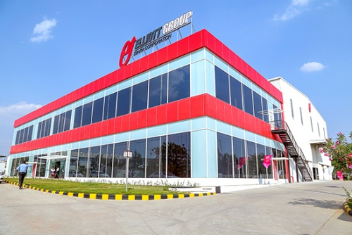図:「The Bengaluru YR factory」の外観(出所:荏原製作所)