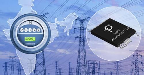 900V耐圧のMOSFETを内蔵したスイッチング電源IC。Power Integrationsのイメージ
