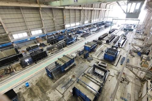 図1:「PATRAC-PM」を導入したSMCプレコンクリートの茨城工場