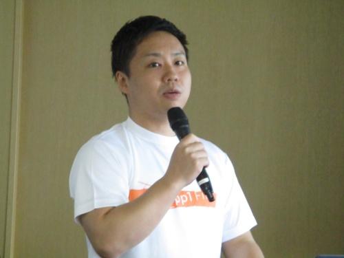 ロセオの柿花隆幸CEO