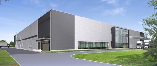 新工場の外観イメージ(出所:富士フイルム)