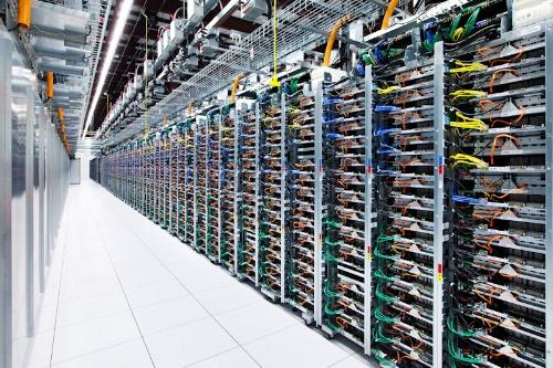 グーグルのデータセンターはサーバー密度が非常に高い