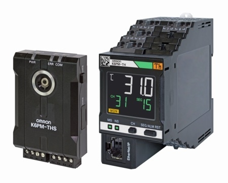 図1:温度状態監視機器 「K6PM-TH」シリーズ(出所:オムロン)