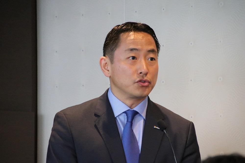米マイクロソフトの沼本健Corporate Vice President