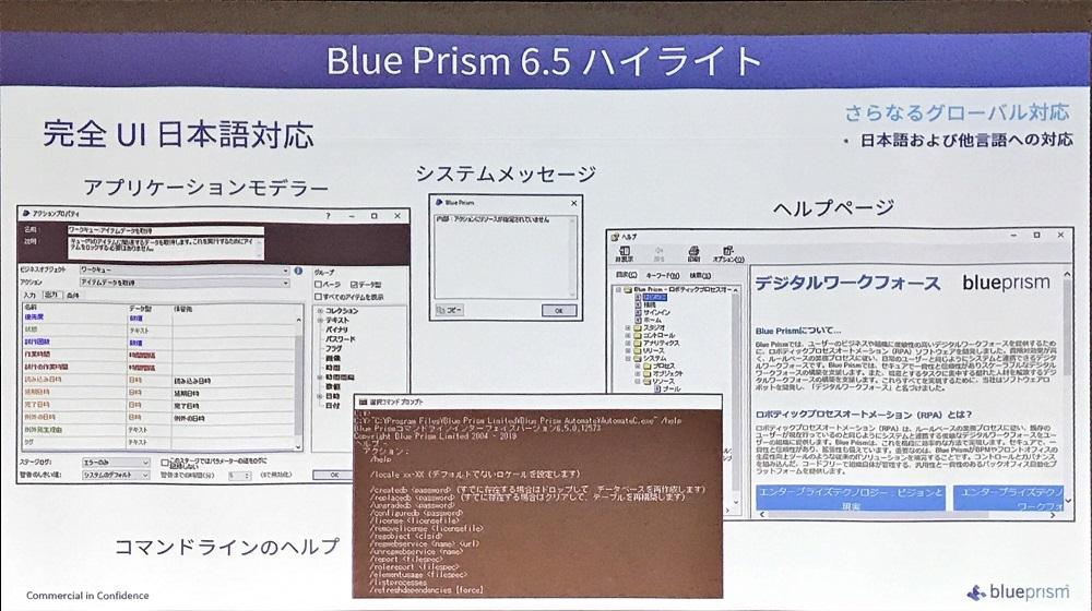 Blue Prism v6.5の概要 (出所:ブループリズム日本法人)