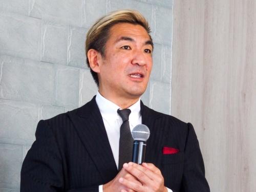 写真2●TAKUMI JAPAN代表取締役の増田薫氏