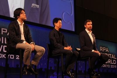 左から三菱UFJ銀行の西田良映氏、SMBCバリュークリエーションの山本慶氏、ダンスケ銀行のアンダース・バーク・モラー氏