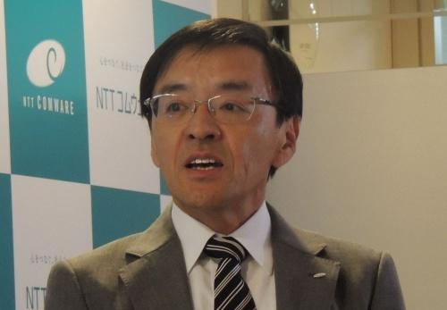 NTTコムウェアの黒岩真人副社長