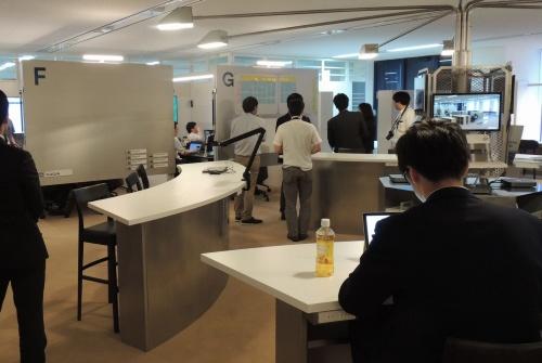 品川シーサイド(東京・品川)にあるオフィスに新設した「COMWARE TO SPACE」