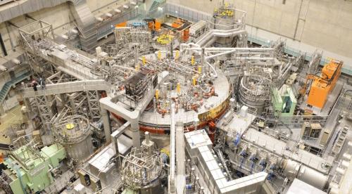 核融合科学研究所の実験装置