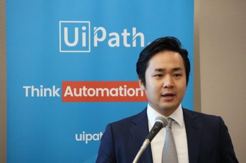 UiPathの末廣満クライアントソリューション本部Business Consulting Teamコンサルタント