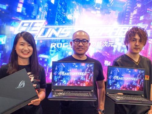 写真1●ASUS JAPANがROGシリーズの新製品を発表
