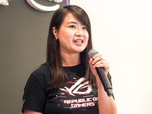写真2●ASUS JAPANのシンシア・テンシステムビジネス事業部マーケティング部部長
