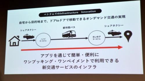 タクシーと都市間バスの予約・決済をアプリ上で一括処理