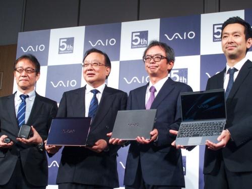 写真1●5周年を迎えたVAIOが「VAIO SX12」を発表