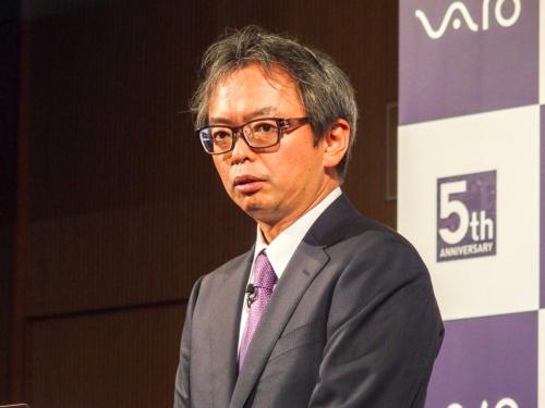写真4●VAIOの林薫取締役