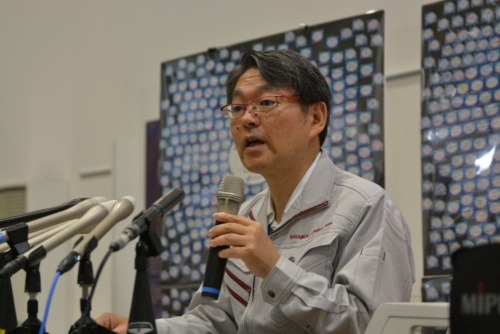 図1 JAXA宇宙科学研究所研究総主幹の久保田孝氏