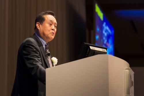 IT Japan 2019で講演する日本瓦斯(ニチガス)の和田眞治社長