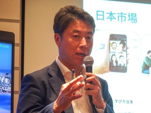 写真5●ZVC JAPAN カントリーゼネラルマネージャーの佐賀文宣氏