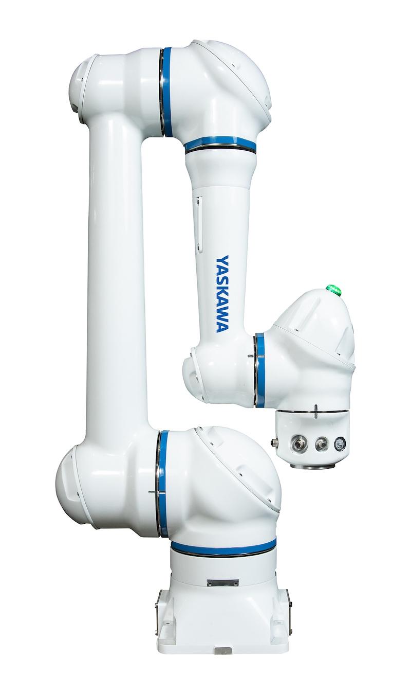 図1:「MOTOMAN-HC10DT 防じん・防滴仕様タイプ」 可搬質量は10kg、最大リーチは1200mm。(出所:安川電機)