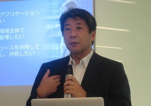 日本IBMの纐纈昌嗣執行役員セキュリティー事業本部長
