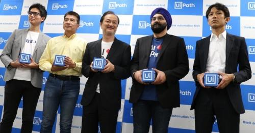 UiPath、米ペテューム、ABEJAなどの幹部ら