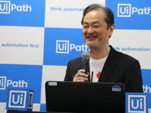 米ユーアイパス日本法人、UiPathの長谷川康一社長兼CEO(最高経営責任者)