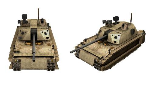 図:次世代戦闘車両のイメージ