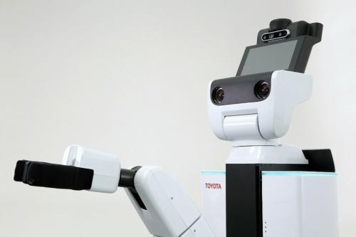 開発プラットフォームとなるトヨタ自動車の生活支援ロボット「Human Support Robot(HSR)」