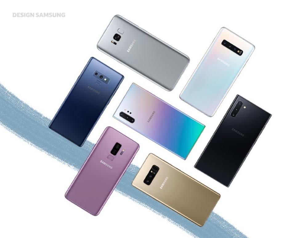 Galaxy NoteシリーズとGalaxy Sシリーズ (写真:サムスン電子のプレスリリース)